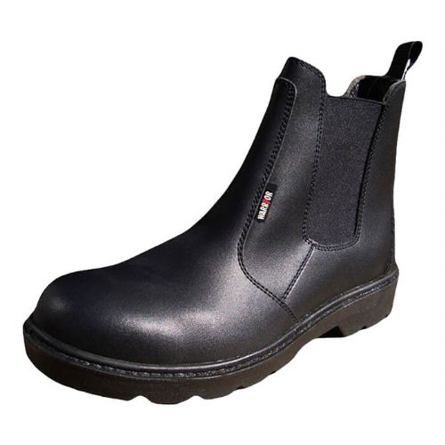 Warrior Black Safety Dealer Boots